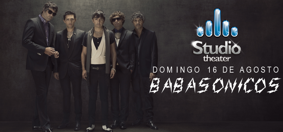 Babasonicos Studio Theater Cordoba 16 de agosto