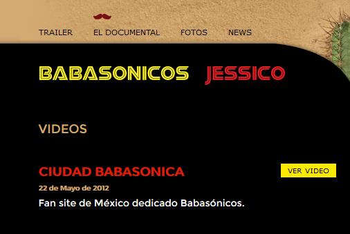 Ciudad Babasonica Jessico el Documental