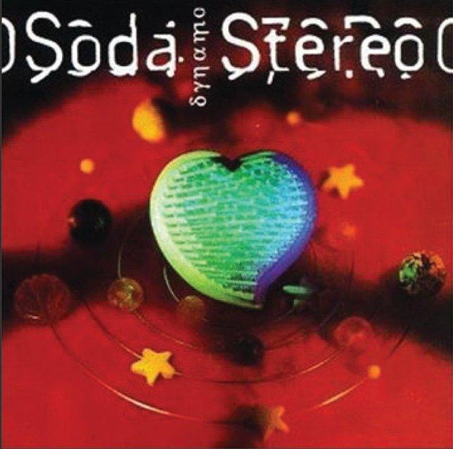 "Portada del disco ""Dynamo"" de Soda Stereo - 1992"